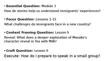 Wit and Wisdom Grade 3 Module 3 Lesson 9