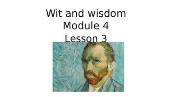 Wit and Wisdom Grade 3 Module 4 Lesson 3
