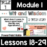 Wit and Wisdom Grade 4 Module 1 Lessons 18-29 Lesson Guide
