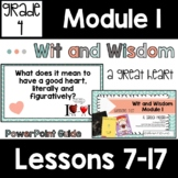 Wit and Wisdom Grade 4 Module 1 Lessons 7-17 Lesson Guide