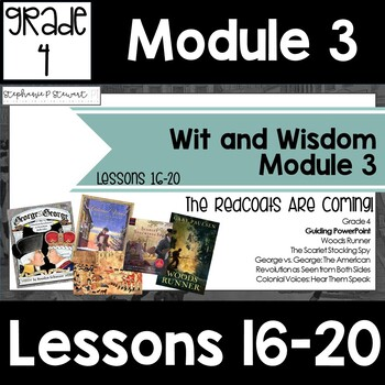 Wit And Wisdom Grade 4 Worksheets & Teaching Resources | TpT