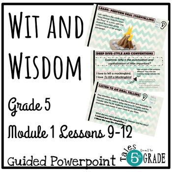 Grade 5 Module 1 Lesson Plans Worksheets Teaching