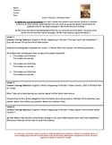 Wit and Wisdom Grade 5 Module 1 Welcome Work Packet