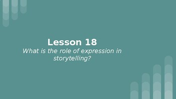Wit and Wisdom Grade 8 M1 Lessons 18-22