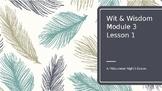 Wit and Wisdom Grade 8 Module 3 Lesson 1