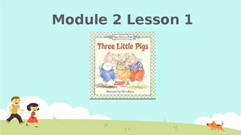 Wit and Wisdom, Grade K, Module 2, Lessons 1-6