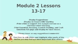 Wit and Wisdom, Grade K, Module 2, Lessons 13-17