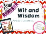 Wit and Wisdom Grades 3-5 Module 0 Lessons 1