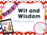 Wit and Wisdom Grades 3-5 Module 0 Lessons 1-6