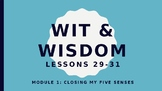 Wit and Wisdom Kindergarten Module 1 Lessons 29-31  BUNDLE
