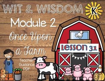 Wit and Wisdom Kindergarten Module 2 Lesson 31