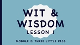 Wit and Wisdom Kindergarten Module 2 Lessons 1-6 Farm Anim