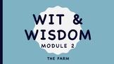 Wit and Wisdom Kindergarten Module 2 The Farm BUNDLE Lessons 1-32