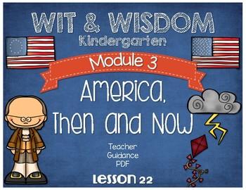 Wit and Wisdom Kindergarten Module 3 Lesson 22