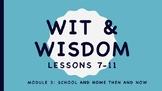 Wit and Wisdom Kindergarten Module 3 School and Home Then