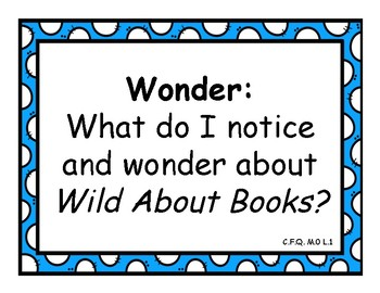 Wit and Wisdom Module 0 Grade K-2 Questions