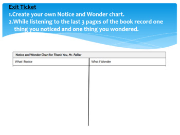 Wit and Wisdom Module 0 Lesson 1