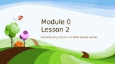 Wit and Wisdom Module 0 Lesson 2 Power Point Kindergarten