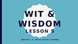 Wit and Wisdom Module 0 Lesson 5 Powerpoint Lesson Kindergarten