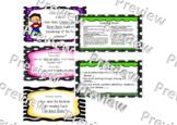 Wit and Wisdom: Module 1 Bundle Questions 1-31 pop of color and clip art