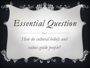Wit and Wisdom Module 1 Essential Question