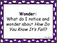 Wit and Wisdom Module 1 Grade 2 Questions