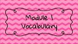 Wit and Wisdom Module 1 Grade 3 Vocabulary