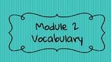 Wit and Wisdom Module 2 Grade 4 Vocabulary