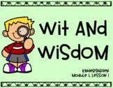 Wit and Wisdom Module 1, Lesson 1