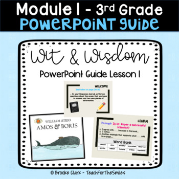 Wit and Wisdom - Module 1 - Lesson 1 - 3rd Grade