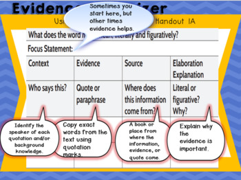 Wit and Wisdom Module 1 Lesson 1 Freebie