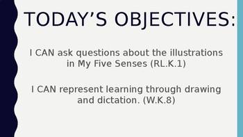 Wit and Wisdom Module 1 Lesson 1 Powerpoint Kindergarten