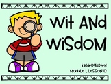 Wit and Wisdom Module 1 Lesson 12 PREVIEW