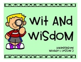 Wit and Wisdom Module 1, Lesson 2