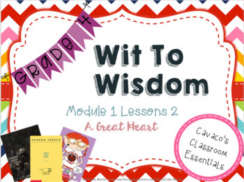 Wit and Wisdom Module 1 Lesson 2