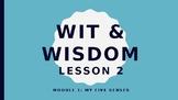 Wit and Wisdom Module 1 Lesson 2 Powerpoint Kindergarten