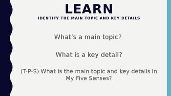Wit and Wisdom Module 1 Lesson 7