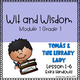 Wit and Wisdom Module 1 Lessons 1-6 Extra Handouts