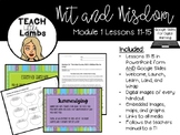 Wit and Wisdom - Module 1 Lessons 11-15
