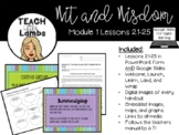 Wit and Wisdom - Module 1 Lessons 21-25