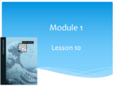 Wit and Wisdom Module 1, The Sea Lessons 10-15