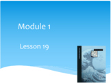 Wit and Wisdom Module 1 The Sea Lessons 19-24