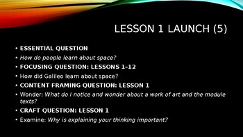 Wit and Wisdom, Module 2 Bundle- All Lessons