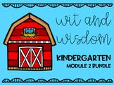 Wit and Wisdom- Kindergarten Module 2