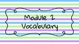 Wit and Wisdom Module 2 Grade 5 Vocabulary