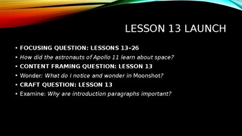 Wit and Wisdom, Module 2, Lessons 13-26