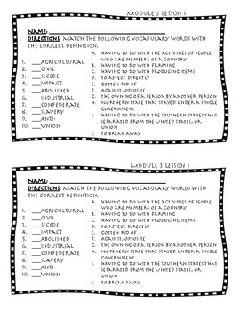 Wit And Wisdom Module 3 Worksheets & Teaching Resources | TpT