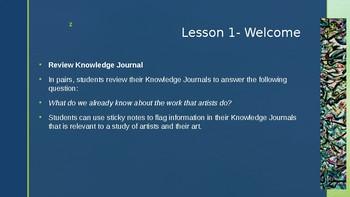 Wit and Wisdom, Module 4, Lesson 1