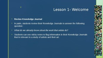 Wit and Wisdom, Module 4, Lessons 1-9