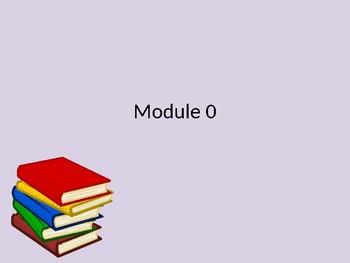 Wit and Wisdom Module Zero Grade k-2